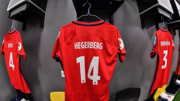 Camiseta de Hegerberg