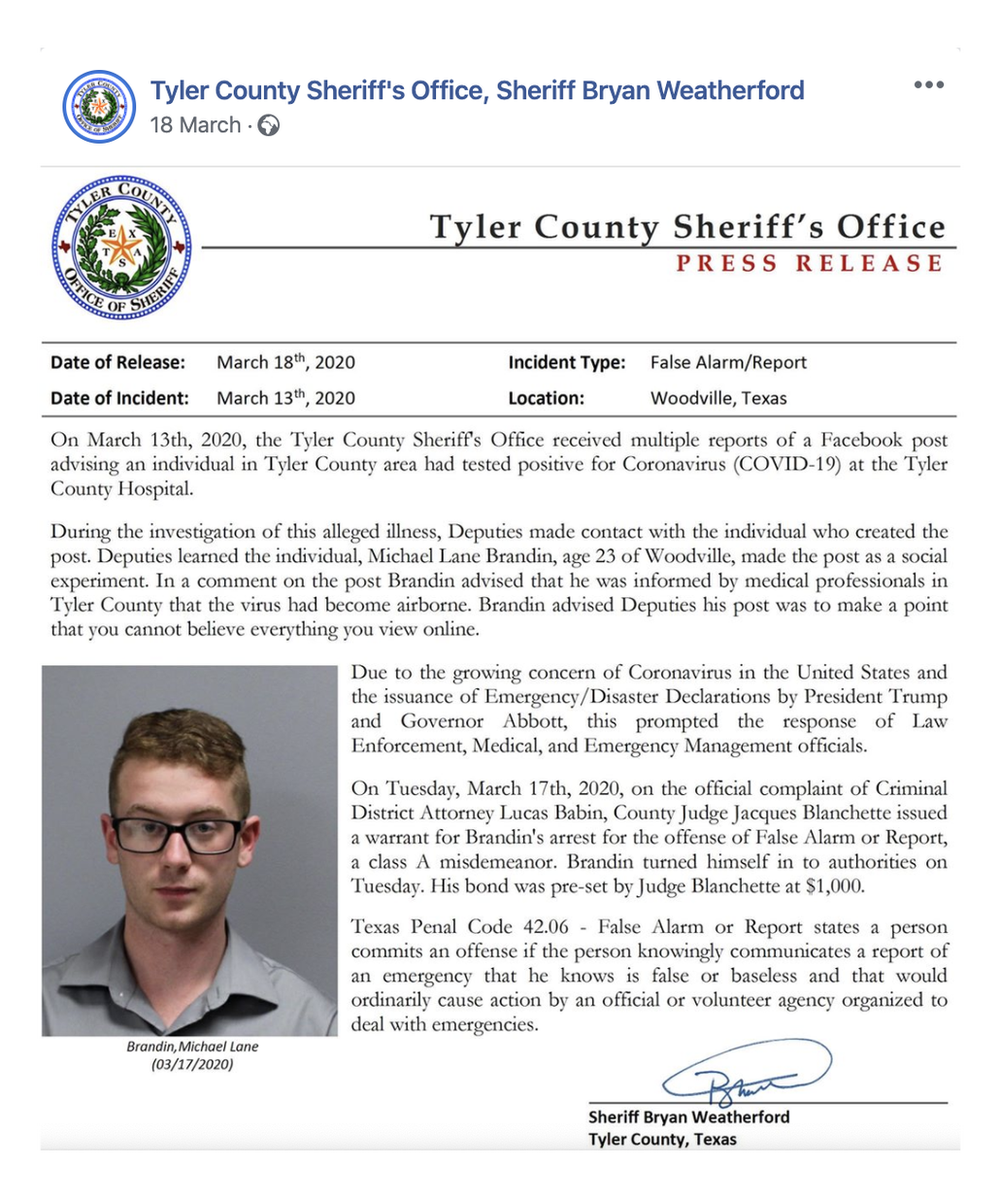 Mr Brandin's alleged crime detailed by the sheriff