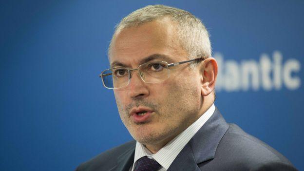 Mikhail Khodorkovsky in Washington, 17 June 2015