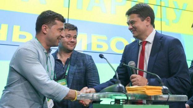 Зеленский Богдан Разумков