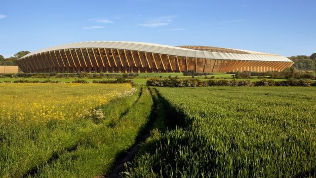 New FGR stadium