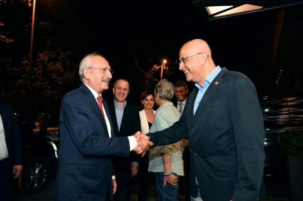 CHP Genel Başkanı Kemal Kılıçdaroğlu ve İstanbul Milletvekili Enis Berberoğlu
