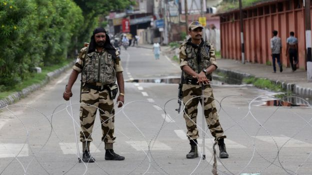 Hindistan'ın Keşmir'deki milis güçleri