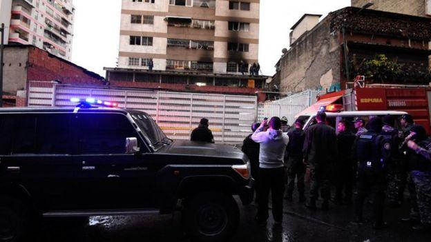 Venezuela saldırı iddiası