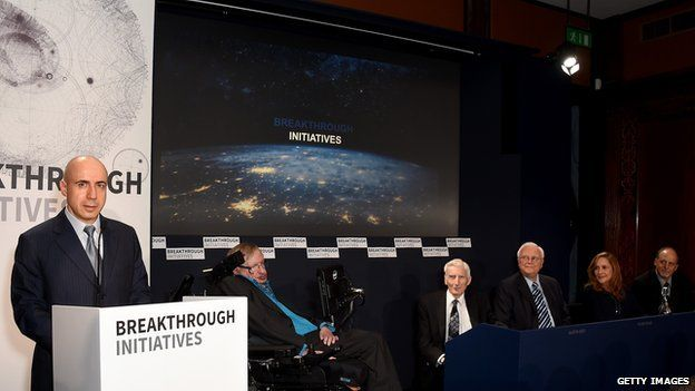 Breakthrough Initiative press briefing