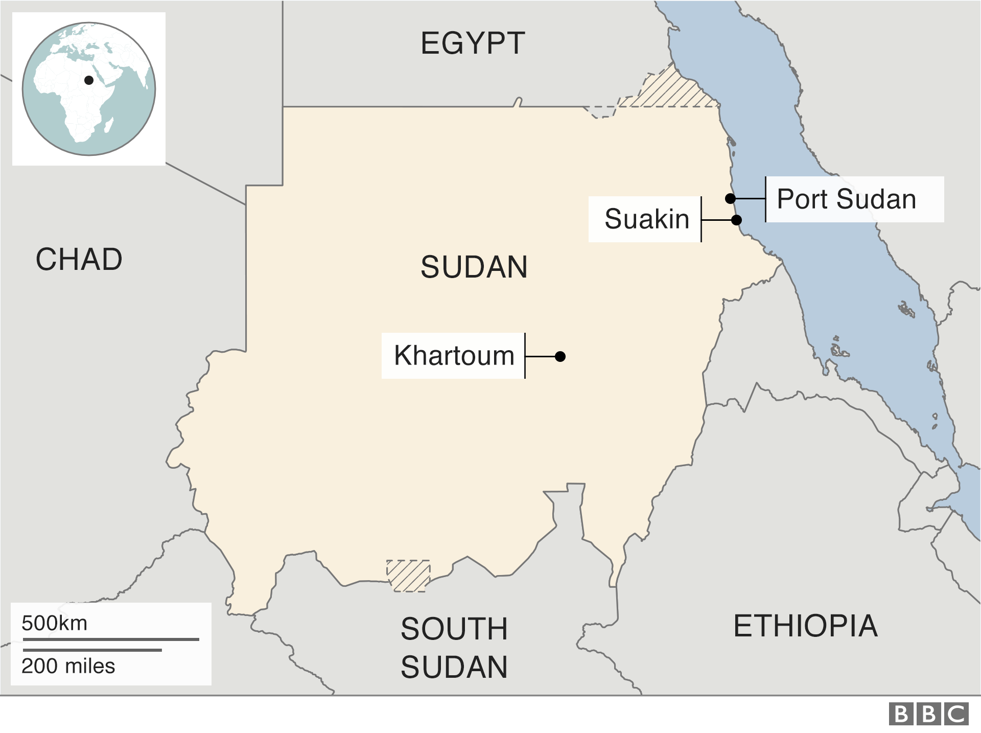 Sudan: Is it being exploited by foreign powers? - BBC News