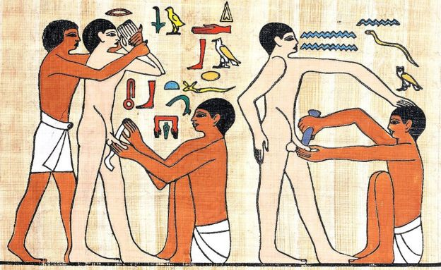 Parece que la circuncisión la hacían cuando los hombres ya tenían uso de razón. GETTY IMAGES