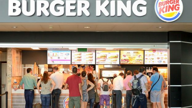 Burger King queue