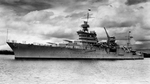 El USS Indidanapolis