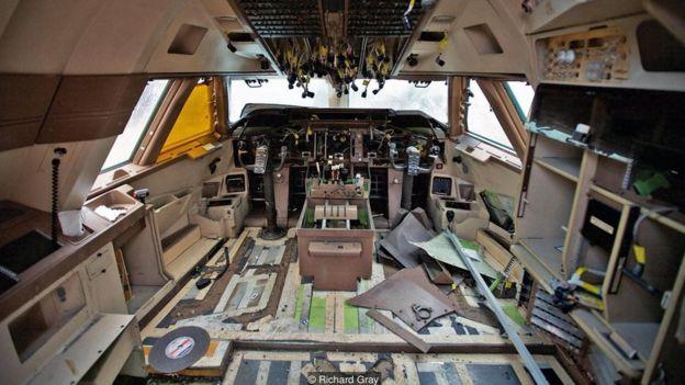 Uçak hurdalığı