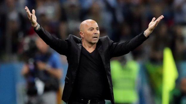 阿根廷教练桑保利