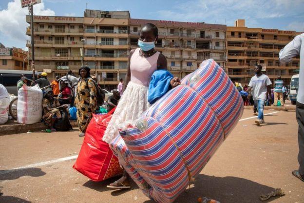 Женщина в Уганде