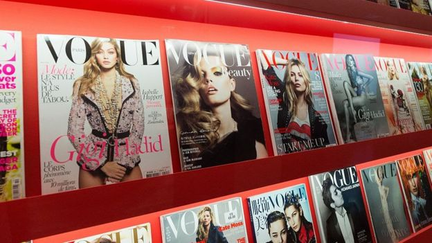 Portadas de la revista Vogue.