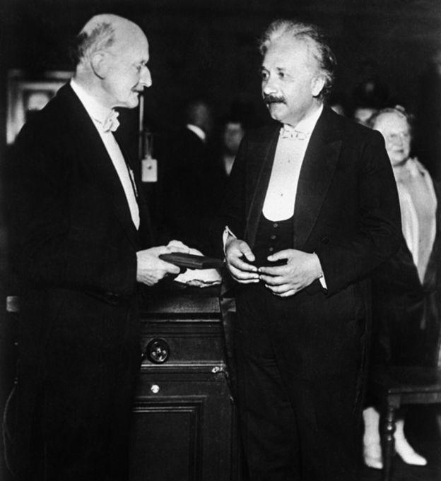 Max Planck y Albert Einsteihn