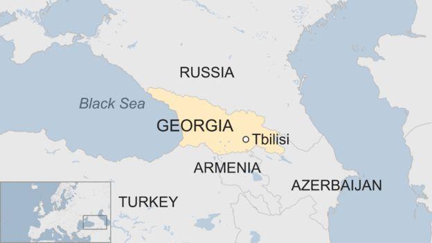 Georgia siege: Four dead in Tbilisi \'terror\' raid - BBC News