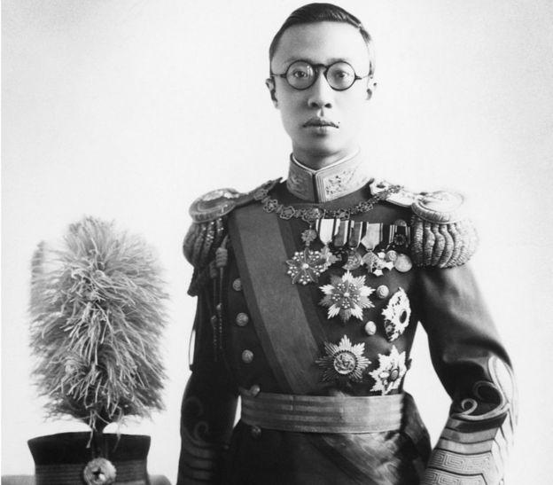 清朝末代皇帝,也是中国历史上最后一个皇帝——溥仪。
