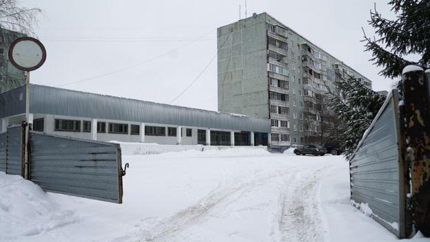 Police department in Omsk