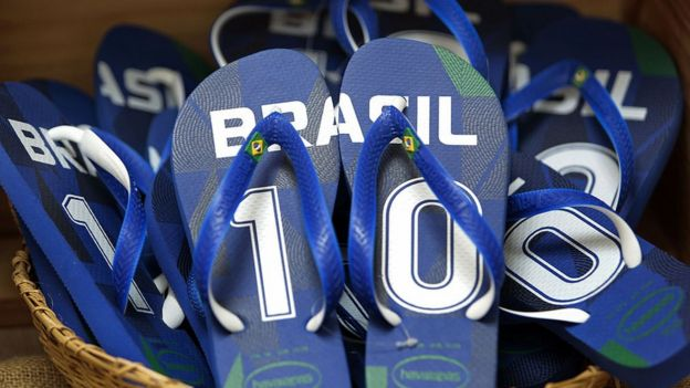 6cd2219ac5e15 Havaianas  How a Brazilian flip-flop took over the world - BBC News