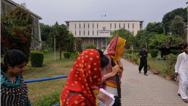 পাকিস্তানের ইসলামাবাদে অবস্থিত কায়েদ-ই-আজম ইউনিভার্সিটি
