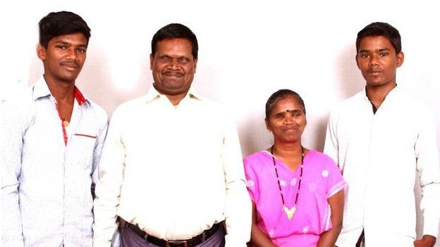 Ravi and family
