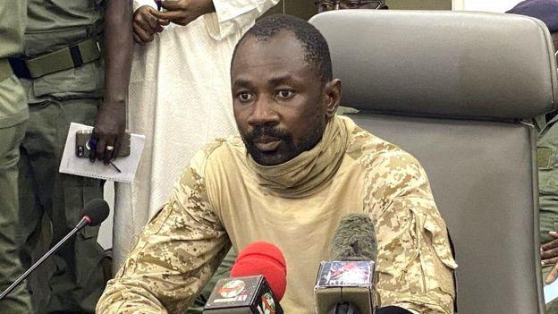 Le colonel Assimi Goita, meneur des militaires qui ont contraint IBK à la démission