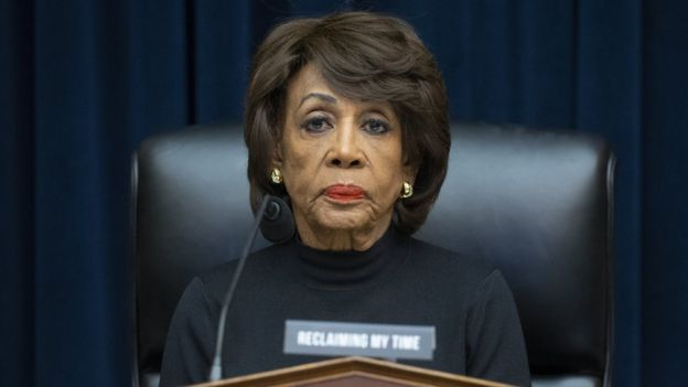 Chairwoman of the House Financial Services Committee Maxine Waters