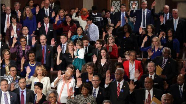 یکصد و شانزدهمین کنگره آمریکا روز گذشته رسما کار خود را آغاز کرد
