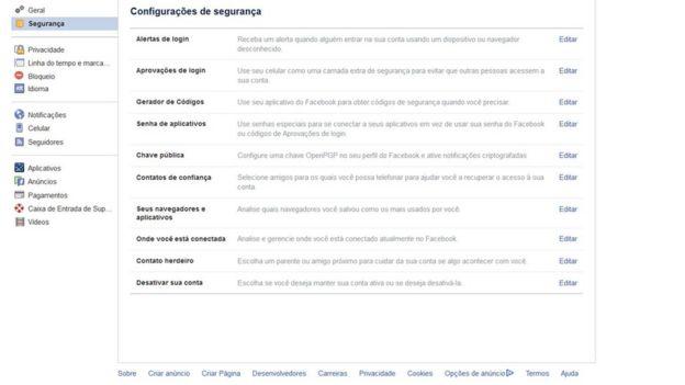 2c64a38ec Como saber se alguém usa sua senha e invade sua conta no Facebook ...