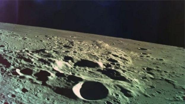 چاند کی سطح