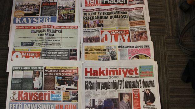 Kayseri yerel gazeteleri
