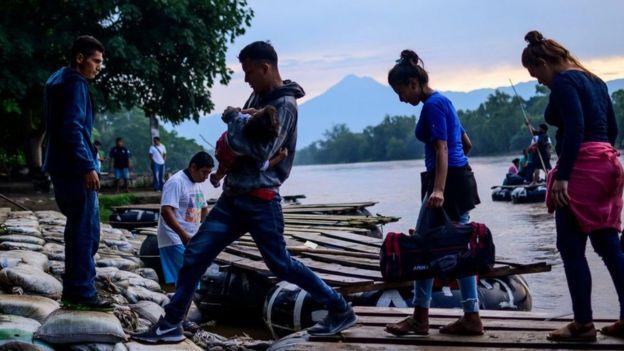 Emigrantes guatemaltecos