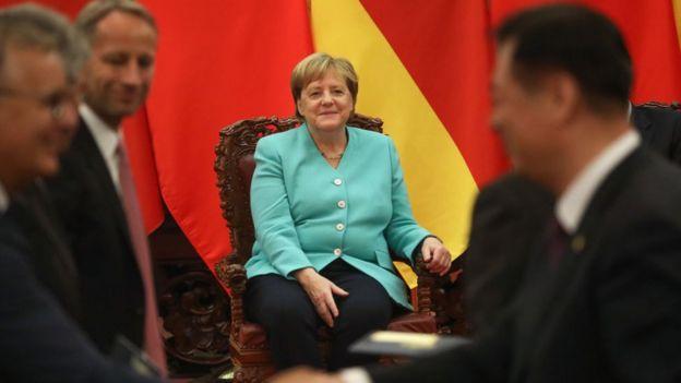 Đức được cho là phải chịu trách nhiệm về việc châu Âu chưa đạt được một chính sách nhất quán hơn về Trung Quốc