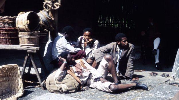 سه مرد سیاه پوست