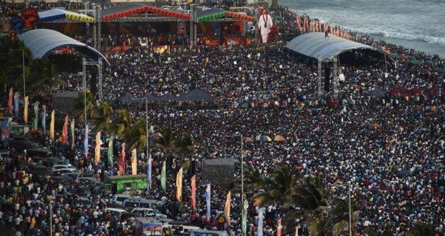 روز جهانی کارگر در کلمبو پایتخت سری لانکا
