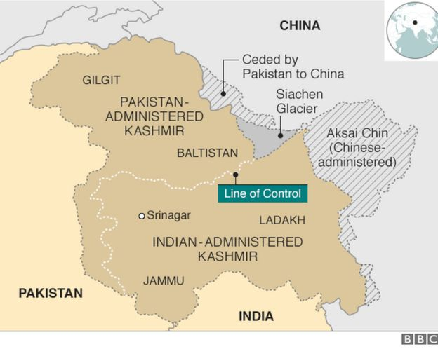 Kashmir: Why India and Pakistan fight over it - BBC News