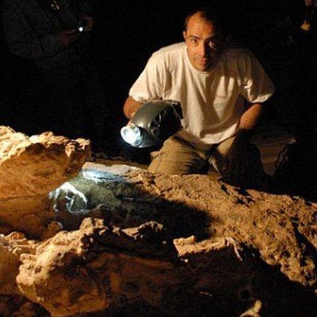 Des scientifiques sud-africains ont passé 20 ans à creuser la pierre pour extraire