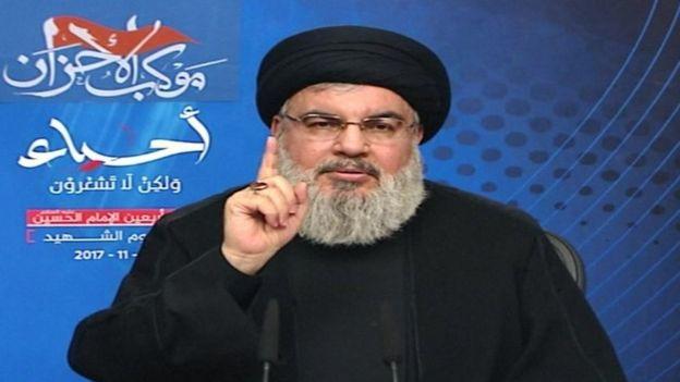 Hassan Nasrallah, líder de Hezbolá.