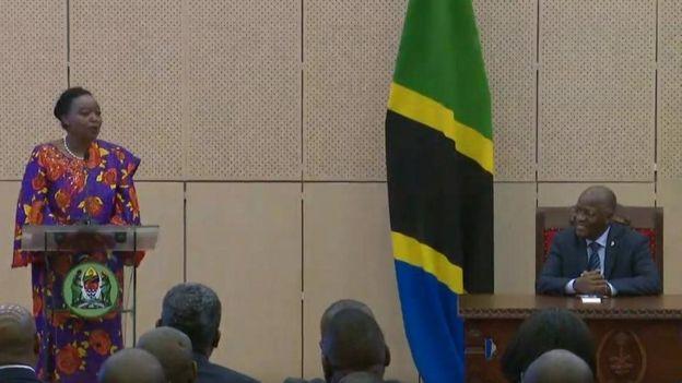 Waziri wa mambo ya nje wa Tanzania, Monica Juma