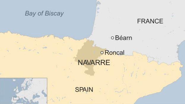 Navarre map