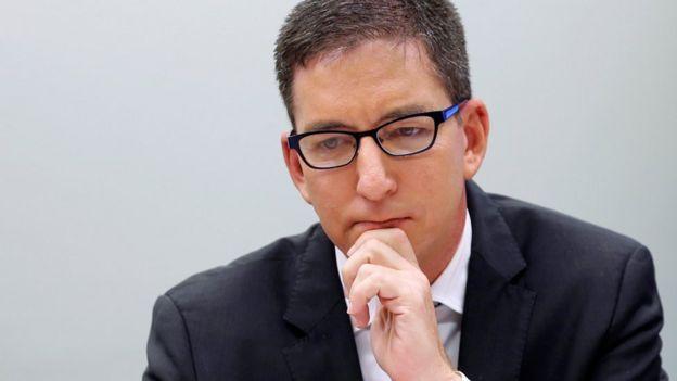 O jornalista Glenn Greenwald