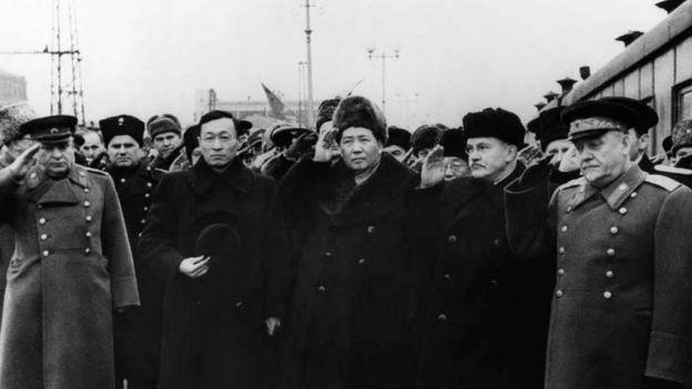 1949年毛澤東訪問蘇聯