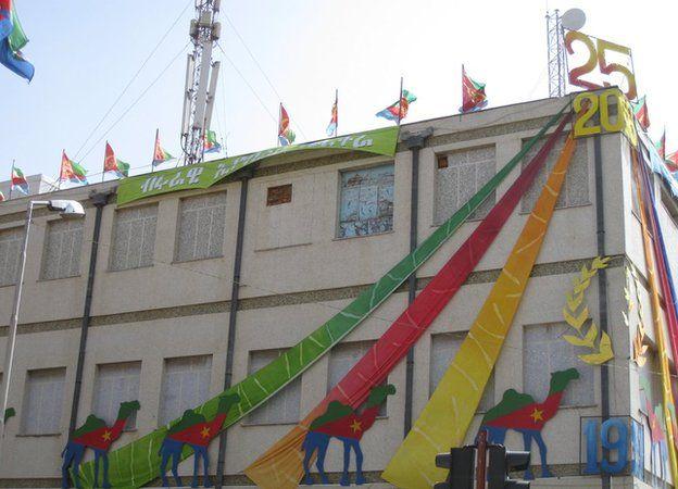 Eritrea building