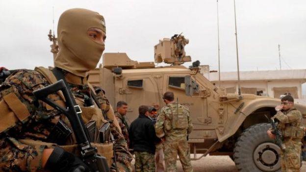 Suriye'deki Amerikan askerleri