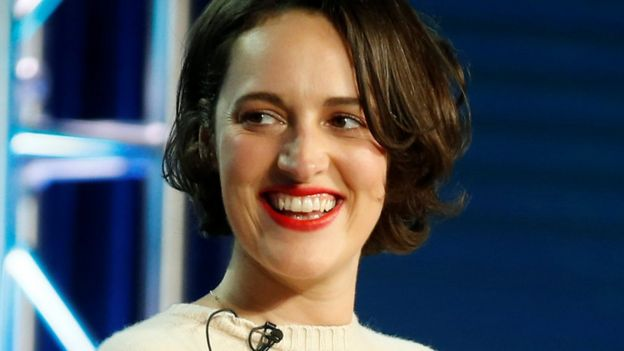 Creator of Fleabag, Phoebe Waller-Bridge, doing the press tour for the show in February