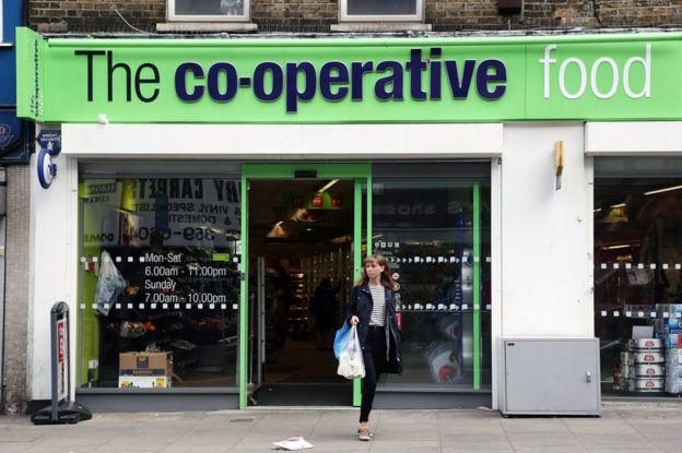 897242e4e2a2 Co-op to replace plastic bags with compostable carriers - BBC News