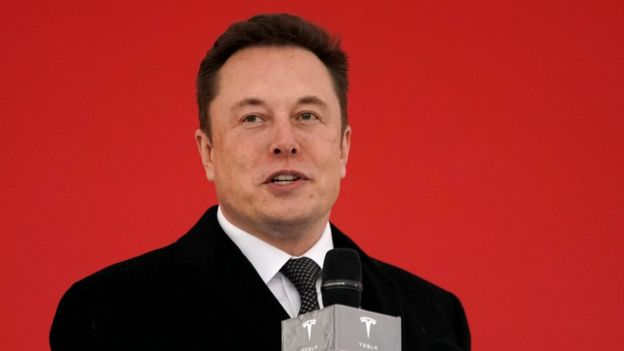 Tesla CEO Elon Musk attends the Tesla Shanghai Gigafactory groundbreaking ceremony in Shanghai, China January 7, 2019.