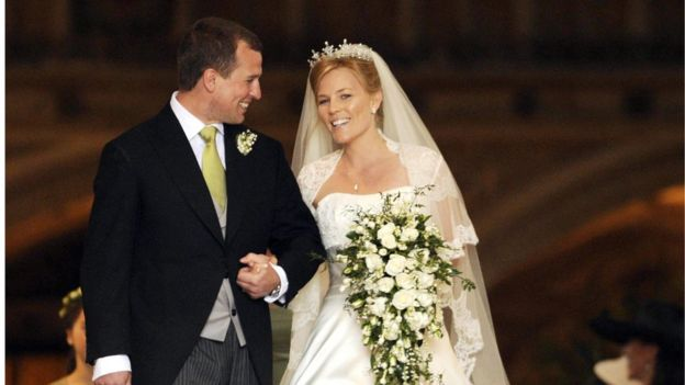 Peter Phillips ve Autumn Kelly, 2008'de evlenmişlerdi