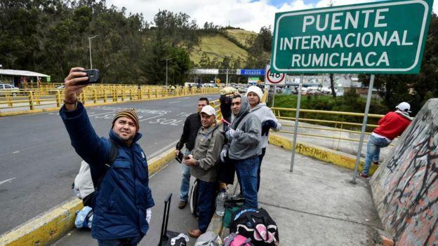 Puente Internacional Rumichaca.