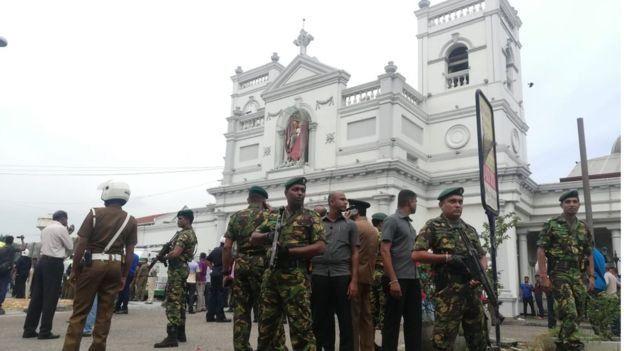 श्रीलंका में ईस्टर बम धमाके