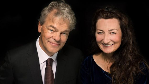Edvard y May-Britt Moser.